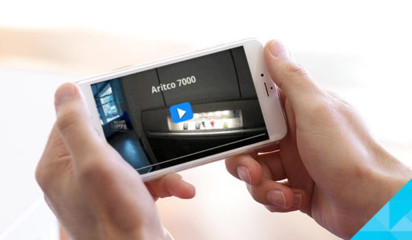 Aritco 7000 - Zdvižná plošina video