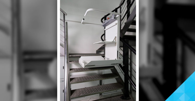 Šikmá schodisková plošina SLIM
