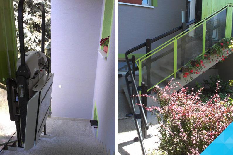 Plošina pre vozičkárov a imobilných